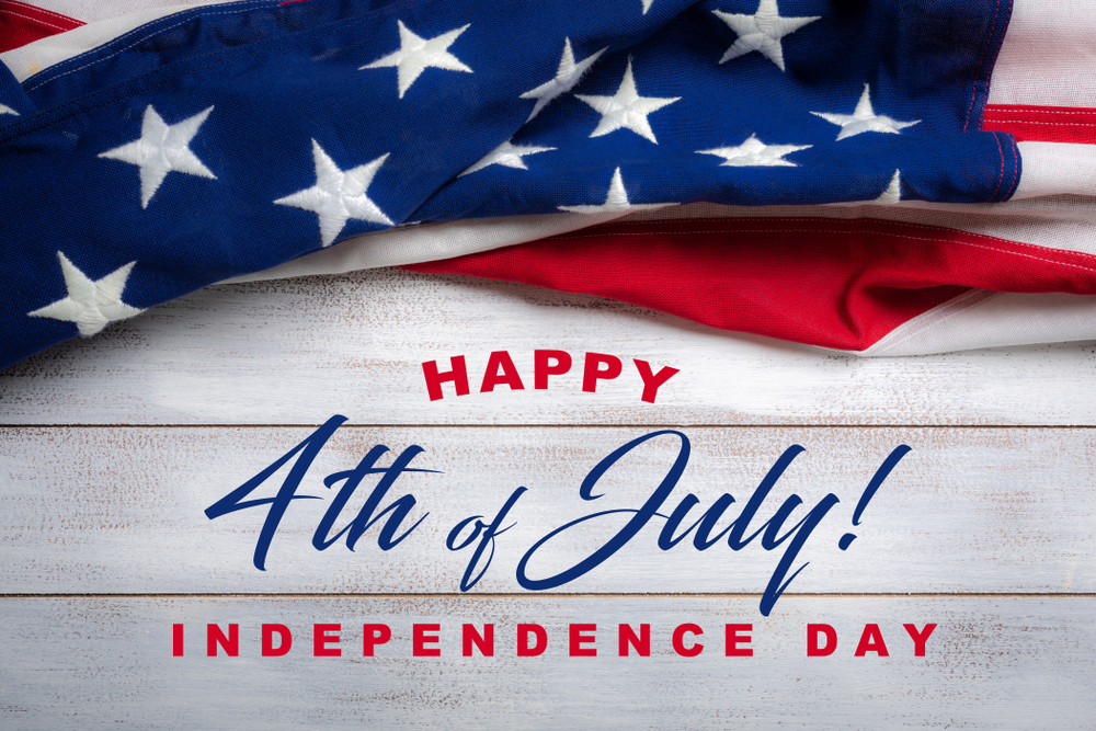 Happy 4th of July – Independence Day!